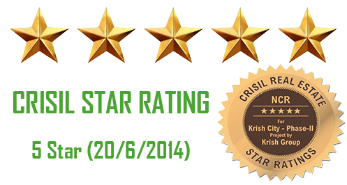 CRISIL STAR RATING ON KRISH CITY PHASE 2 PROJECT