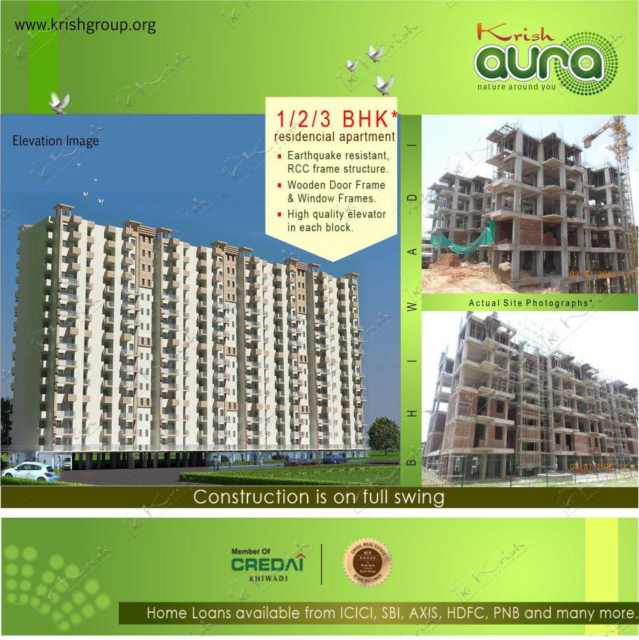 Krish Aura - Apartment In Bhiwadi