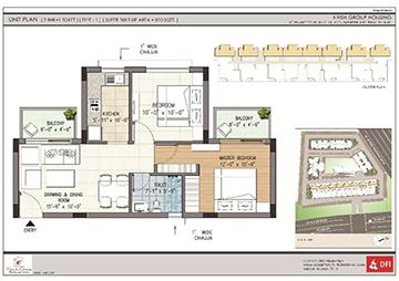 Krish Icon 1 2 3 Bhk Luxury Properties Flats In Bhiwadi