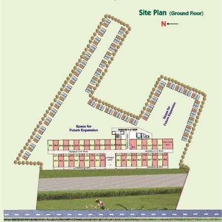 Site Plan - Krish Mall