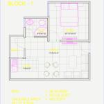 Floor Plan of 489 sqft