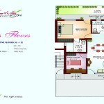 Floor Plan - Iris Floor - Krish City - I