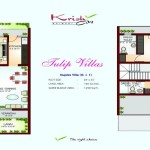 FloorPlan - Tulip Villas - Krish City - I