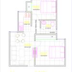 Floor Plan of 690 sqft