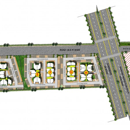 Site Plan - Krish Season(Plots)