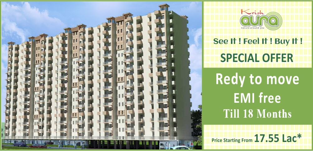 Krish Aura ready to move in Flats in Bhiwadi