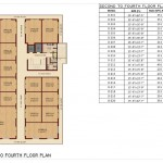 Floor Plan - 2nd to 4th Floor - Krish Square