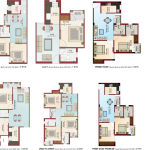 Floor Plans - Krish City - II