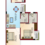 Floor Plan - Krish City - II - Prime Rose Premium