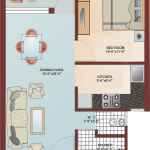 Floor Plan - Krish City - II - Rose