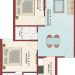 Floor Plan - Krish City - II - Zenia
