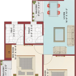 Floor Plan - Krish City - II - Satin