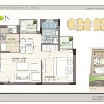 FloorPlan - 1BHK - Krish Icon