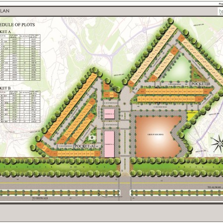 Site Plan of Krish Harmony