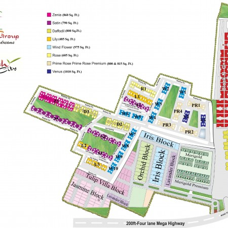 Site Plan - Krish City I & II