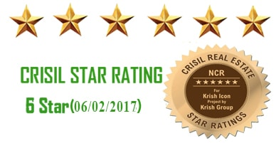 Krish Icon Crisil Star rating 6 Star