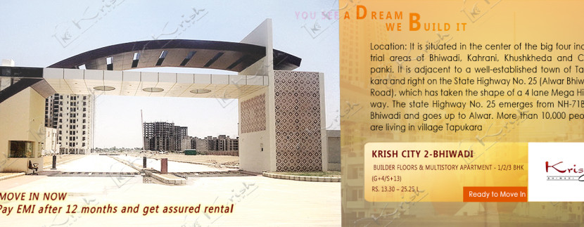 3 bhk Apartment in Bhiwadi