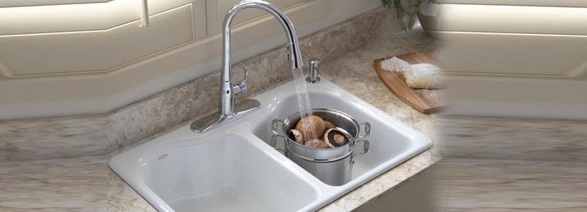 Enamel Sink