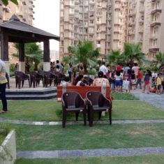 Musical chair game at Krish Aura