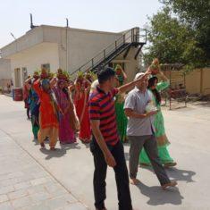 कलश शोभा यात्रा in Krish Icon
