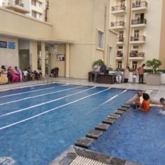 Swimming competition at Krish Icon