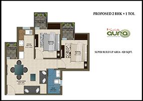 Krish Aura Floor Plan in Bhiwadi, Property in Bhiwadi